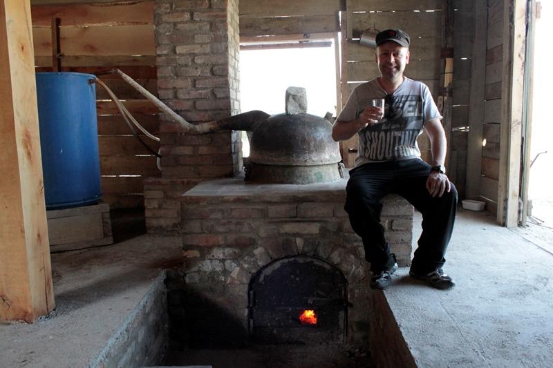 Chacha distillation
